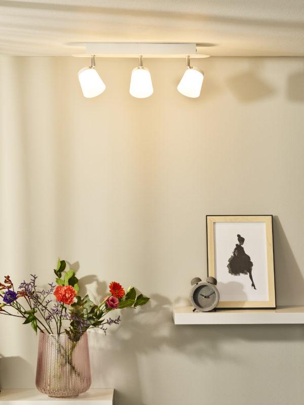 Heloïse-led plafondspot - opaal Lucide Plafondspot 26991/15/31