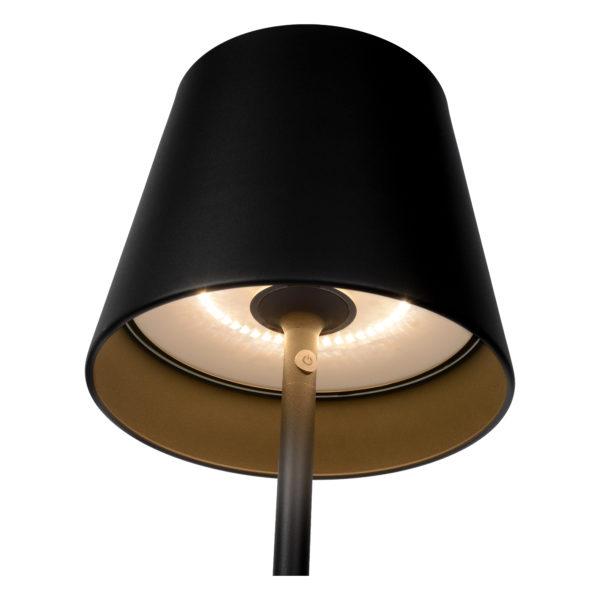 Justin vloerlamp - zwart Lucide Vloerlamp 27888/05/30