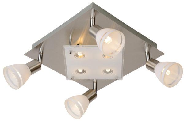 Kolla Led plafondspot - mat chroom Lucide Plafondspot 26992/24/12
