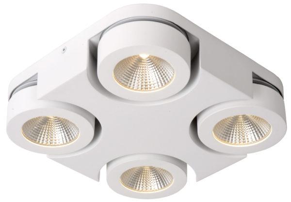 Mitrax-led plafondspot - wit Lucide Plafondspot 33158/19/31