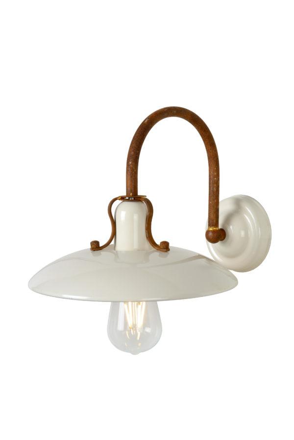 Römer wandlamp - roest bruin Lucide Wandlamp 30276/01/38