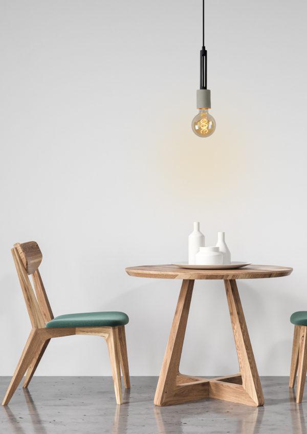 Tanner hanglamp - grijs Lucide Hanglamp 39420/01/41