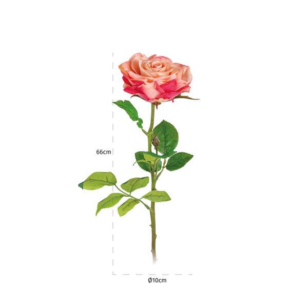 Richmond Interiors Bloem Rose Rosee-white (18 stuks)  Woonaccessoire