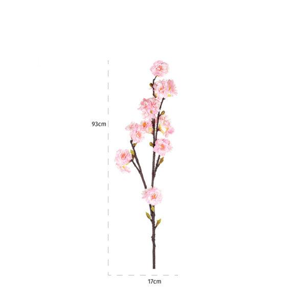 Richmond Interiors Bloem kersenbloesem pink (12 stuks)  Woonaccessoire