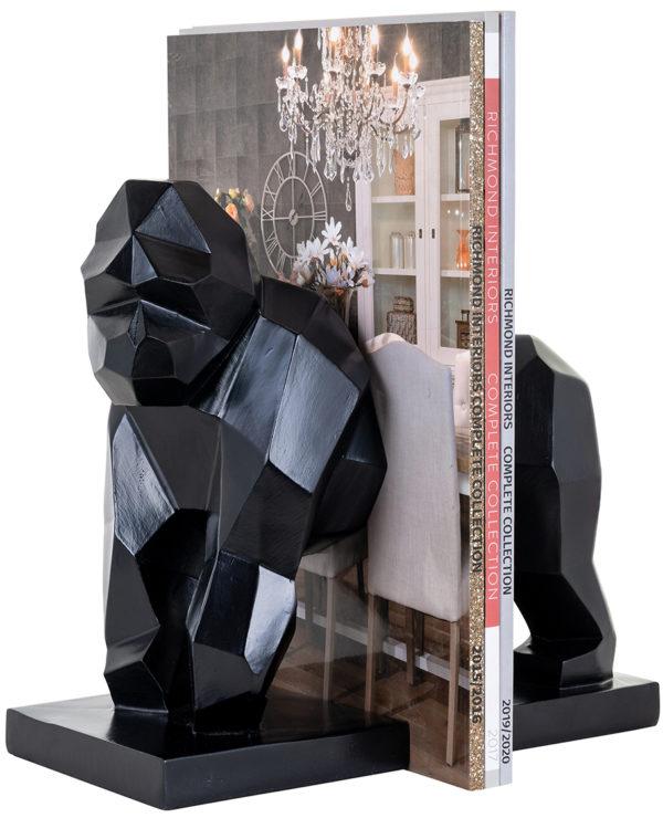 Richmond Interiors Boekenstandaard Kala (Zwart) Zwart Woonaccessoire
