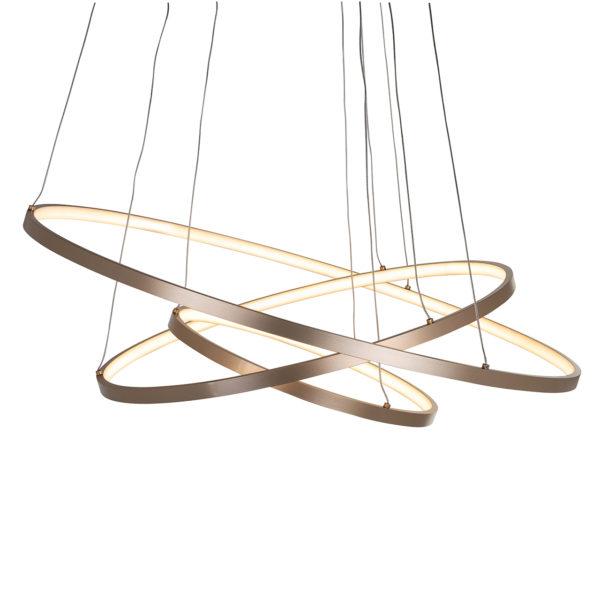Richmond Interiors Hanglamp Amira goud (Goud) Goud Woonaccessoire