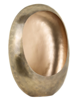Richmond Interiors Kandelaar Majlen goud medium (Goud) Goud Woonaccessoire