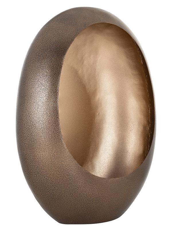 Richmond Interiors Kandelaar Xemm brons met goud medium (Brons) Brons Woonaccessoire
