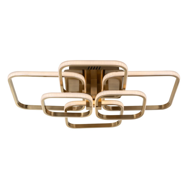Richmond Interiors Plafondlamp Cailey (Brushed Gold) Brushed Gold Woonaccessoire