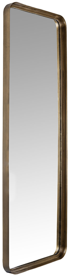 Richmond Interiors Spiegel Carlo (Brushed Gold) Brushed Gold Woonaccessoire