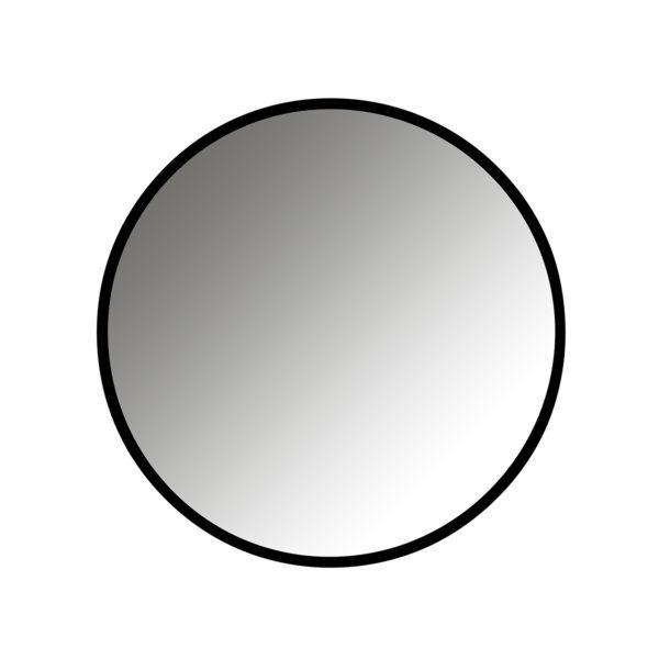 Richmond Interiors Spiegel Maeron zwart 70Ø (Zwart) Zwart Woonaccessoire