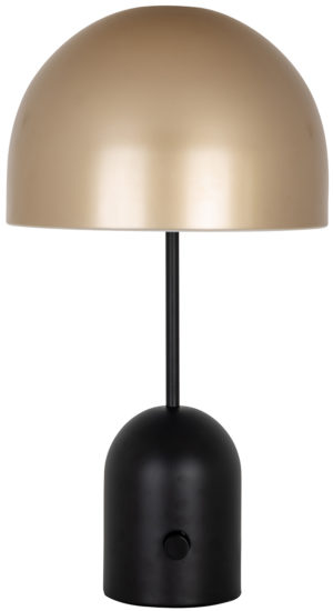 Richmond Interiors Tafellamp Elvina groot (Goud) Goud Woonaccessoire