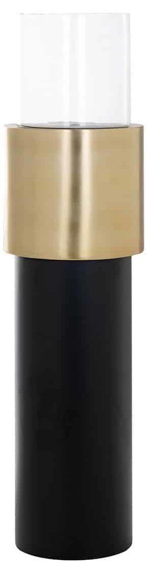 Richmond Interiors Windicht Oswell zwart/goud groot (Goud) Goud Woonaccessoire