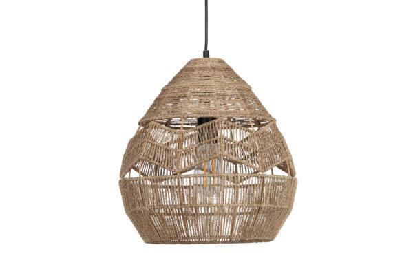 WOOOD Adelaide Hanglamp Naturel Ø35cm Natural Lamp