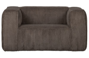 WOOOD Bean Fauteuil Grove Ribstof Mud Mud Bank