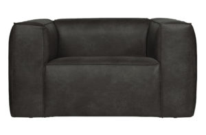 WOOOD Bean Fauteuil Zwart Black Bank