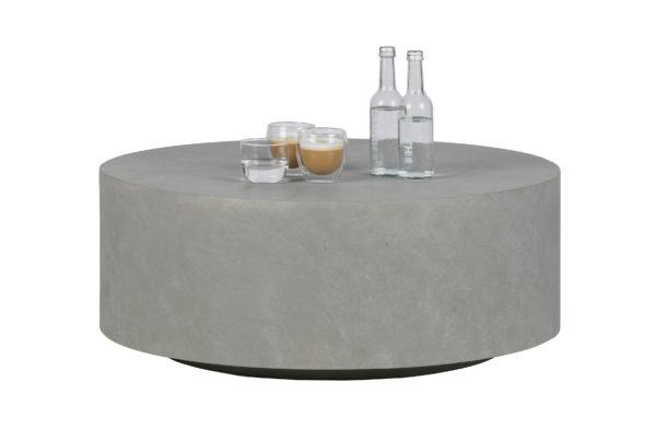 WOOOD Dean Salontafel Large Betonlook Grijs 32xØ80 Grey Eettafel