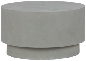 WOOOD Dean Salontafel Medium Betonlook Grijs 34xØ60 Grey Eettafel