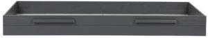 WOOOD Dennis Matras / Bedlade Steelgrey Geborsteld Steel grey Ledikant