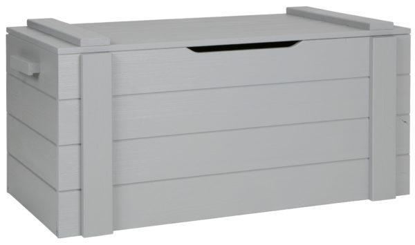 WOOOD Dennis Speelgoedkist Betongrijs Geborsteld Concrete grey Kast