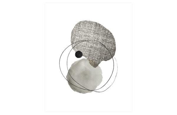 WOOOD Dot & Structure Poster 40x50cm Various Woonaccessoire