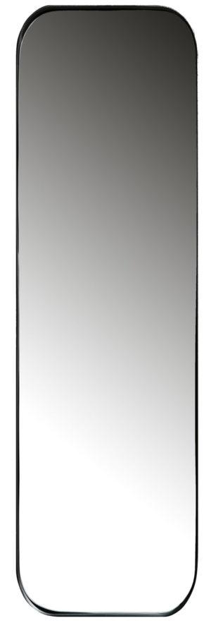 WOOOD Doutzen Spiegel Metaal Zwart 170x40cm Black Woonaccessoire