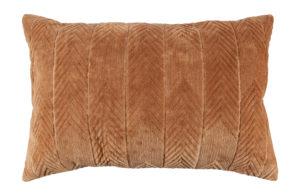 WOOOD Fallon Kussen Fluweel Biscuit 40x60cm Biscuit Woonaccessoire