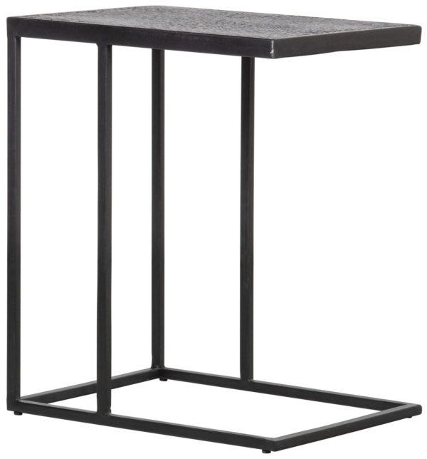 WOOOD Febe Bijzettafel U-vorm Metaal Zwart Black Eettafel