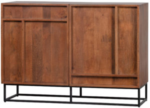 WOOOD Forrest 2-deurs Dressoir Mango Hout Naturel Natural Kast