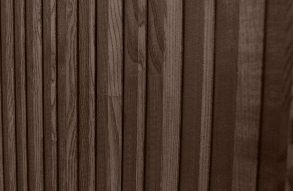 WOOOD Gravure Hoge Kast Korpus Naturel En Deuren Bruin Natural/brown Kast