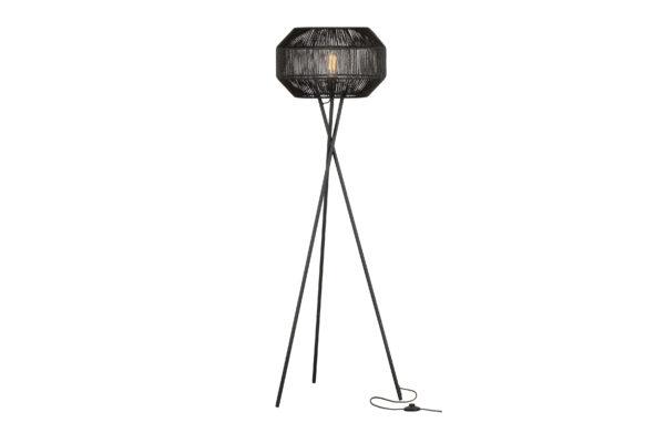 WOOOD Griffin Staande Lamp Zwart Black Lamp