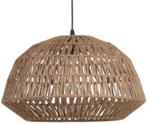 WOOOD Kace Hanglamp Jute Naturel Ø45cm Natural Lamp