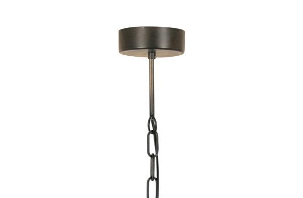 WOOOD Kaki Hanglamp Metaal Zwart Black Lamp