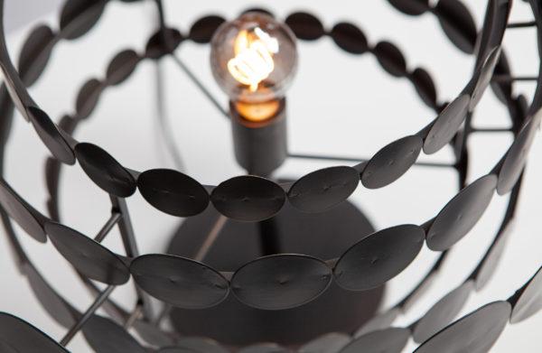 WOOOD Kaki Tafellamp Metaal Zwart Black Lamp