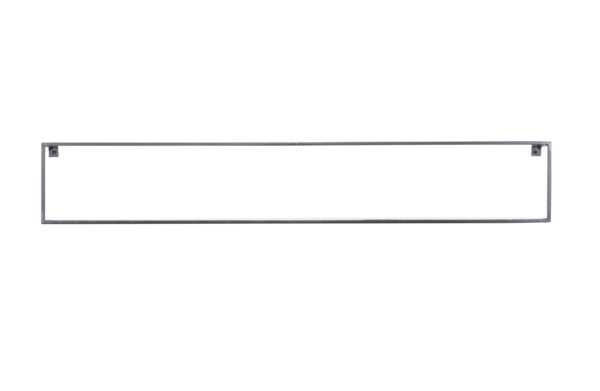 WOOOD Meert Wandplank Zwart 100cm Black Woonaccessoire