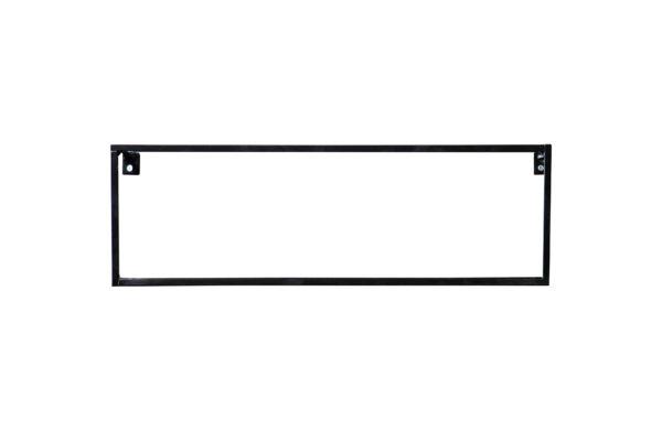 WOOOD Meert Wandplank Zwart 50cm Black Woonaccessoire