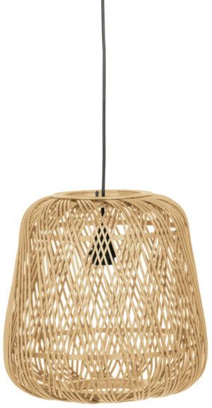WOOOD Moza Hanglamp Bamboe Naturel 36x36cm Natural Lamp