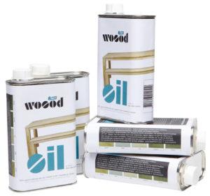 WOOOD Olie Grijs 400ml Blik Grey Woonaccessoire