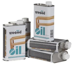 WOOOD Olie Transparant 400ml Blik Transparant Woonaccessoire