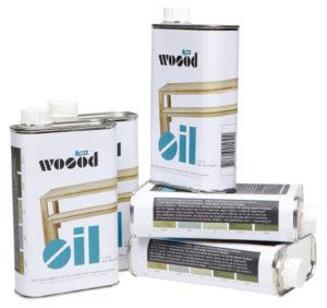WOOOD Olie Wit 400ml Blik White Woonaccessoire