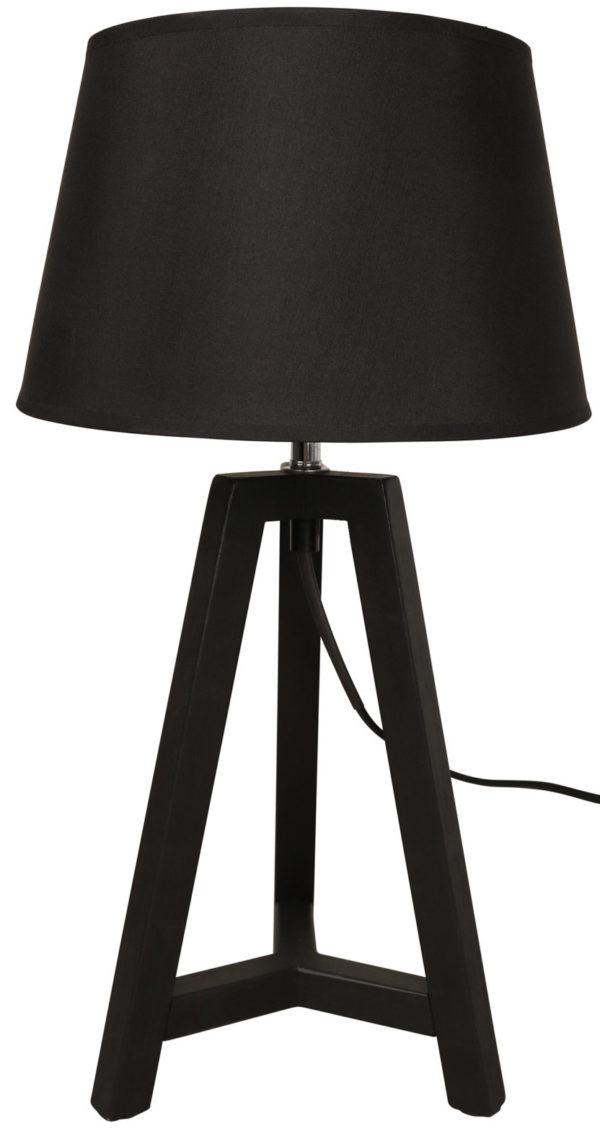 WOOOD Omar Tafellamp Zwart Black Lamp
