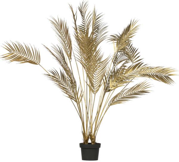 WOOOD Palm Kunstplant Goud 110cm Gold Woonaccessoire