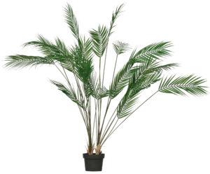 WOOOD Palm Kunstplant Groen 110cm Green Woonaccessoire