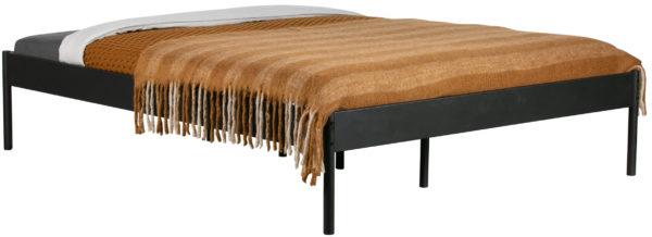 WOOOD Pepijn Bed Metaal Zwart 160x200cm Black Ledikant