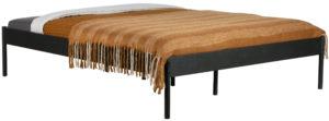 WOOOD Pepijn Bed Metaal Zwart 180x200cm Black Ledikant