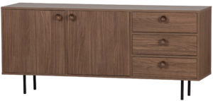 WOOOD Prato Dressoir Walnoot Walnut Kast