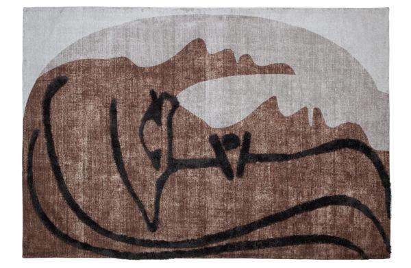 WOOOD Roden Wand/vloerkleed Multi 170x240cm Multi Woonaccessoire