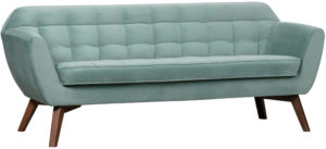 WOOOD Roxy Sofa Fluweel Lichtblauw Light blue Bank