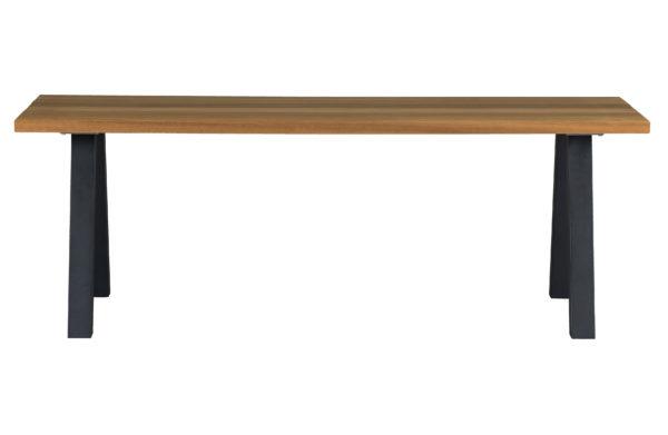 WOOOD Set V 2 - Tablo Outdoor A-poot Metaal Black Eettafel