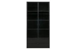 WOOOD Sivan Garderobekast Zwart Black Kast